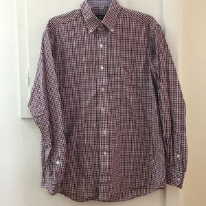 Men's Plaid Long Sleeve Button Up